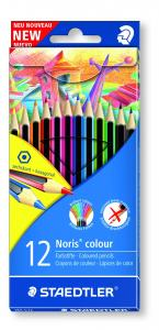 STAEDTLER NORIS COLOUR FÄRGPENNOR 12-SET