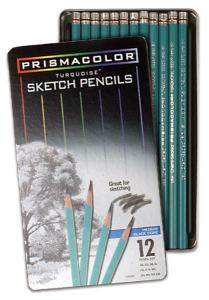 PRISMACOLOR TURQUOISE SKETCH 12-SET