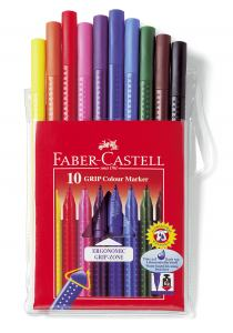 FIBERPENNA FABER GRIP COLOUR 10-SET
