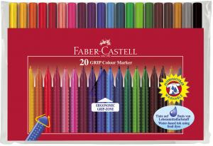 FIBERPENNA FABER GRIP COLOUR 20-SET