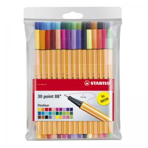 STABILO 88 POINT PEN 30-SET