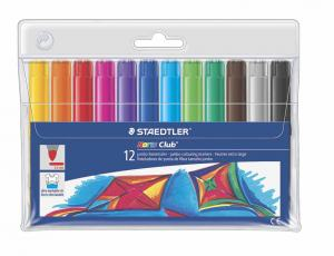 STAEDTLER NORIS CLUB JUMBO TUSCHPENNOR 12-SET