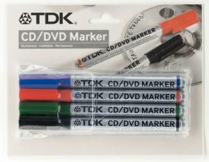 TDK CD-R/DVD PEN 4-SET