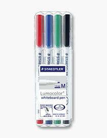 WHITEBOARDPENNA STAEDTLER MEDIUM 4-SET