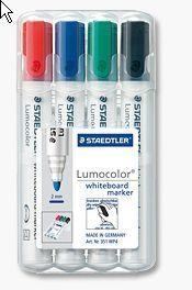 WHITEBOARDMARKER STAEDTLER 351 4-SET