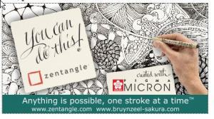 ZENTANGLE PIGMA MICRON 6-SET