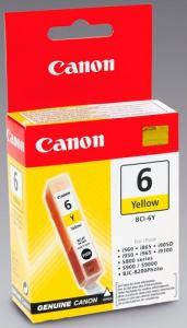 BLÄCKPATRON CANON BCI-6Y YELLOW