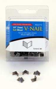 LOGAN INRAMNING V-NAIL FOR SOFT WOOD 7MM 200-PACK