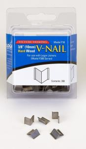 LOGAN INRAMNING V-NAIL FOR HARD WOOD 10MM 200-PACK