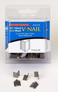 LOGAN INRAMNING V-NAIL FOR HARD WOOD 12MM 200-PACK