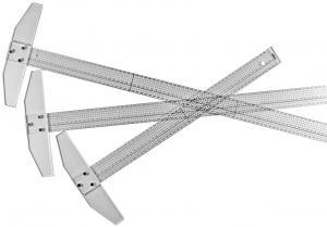 T-LINJAL PLAST 50CM