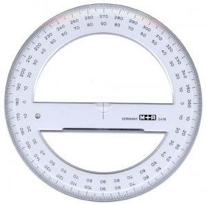 GRADSKIVA M+R 360GRADER, 15CM