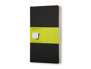 MOLESKINE CAHIER PLAIN BLACK POCKET