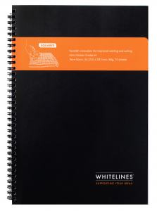 WHITELINES A4 SPIRALBLOCK