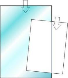 PLASTFODRAL I GLASKLAR PLAST, A5
