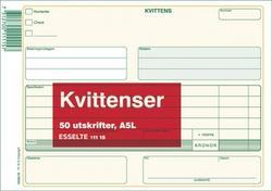 KVITTENSER A5L 50 BLAD