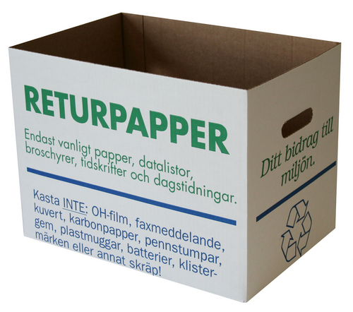 RETURPAPPERSLÅDA
