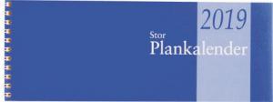 STOR PLANKALENDER, SPIRALBUNDE