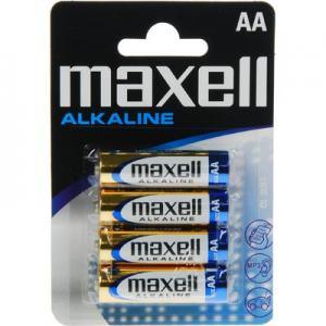 BATTERI MAXELL AA 4-PACK