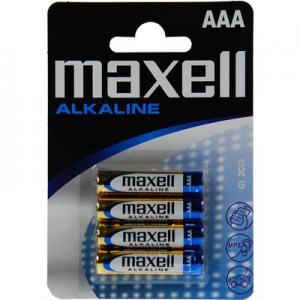 BATTERI MAXELL AAA 4-PACK