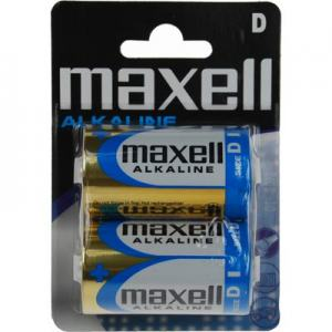BATTERI MAXELL D 2-PACK