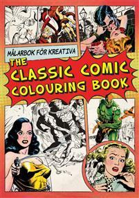 BOK: THE CLASSIC COMIC COLOURING BOOK