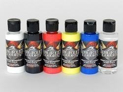 CREATEX WICKED COLOR PRIMARY 60ML 6-SET